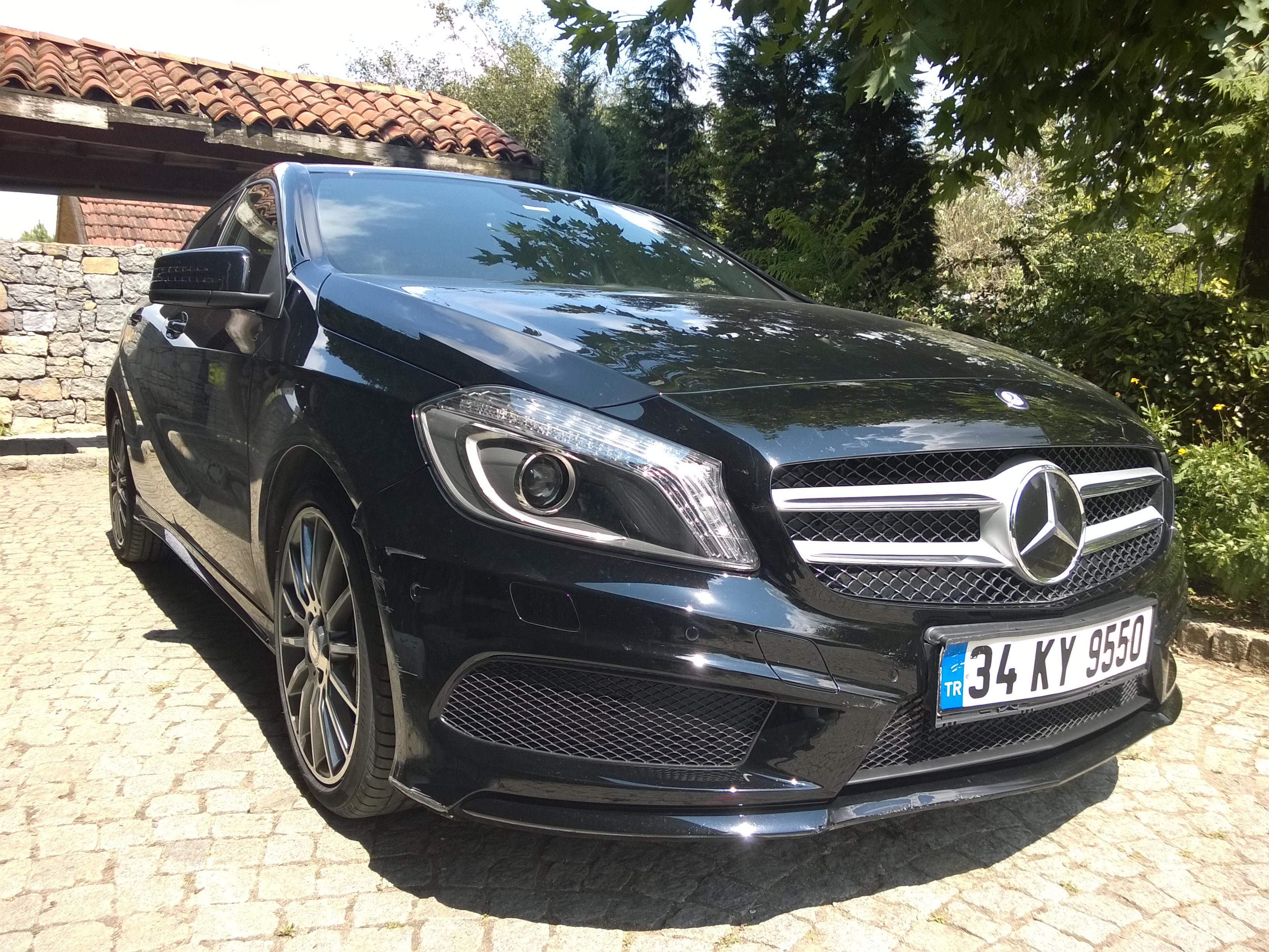 Kurt Postundaki Kuzu Mercedes A180 Cdi Amg W176