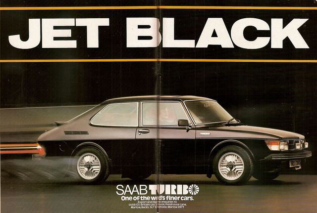 Saab 99 Turbo Jet Black