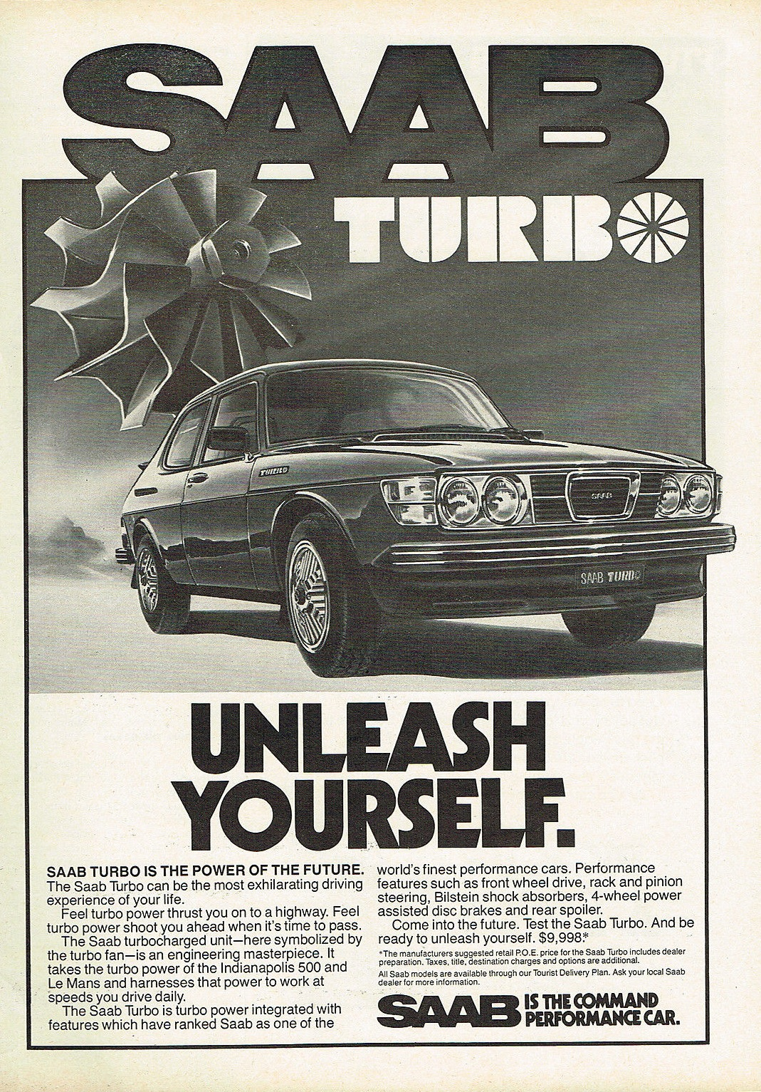 Saab 99 Turbo Unleash Yourself